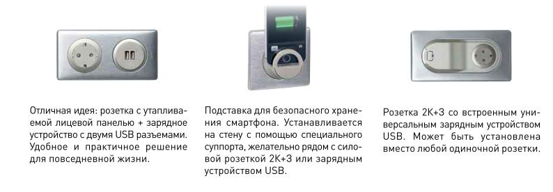 Подставка для iPad с зарядкой по USB