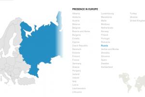 Компания Legrand в Европе